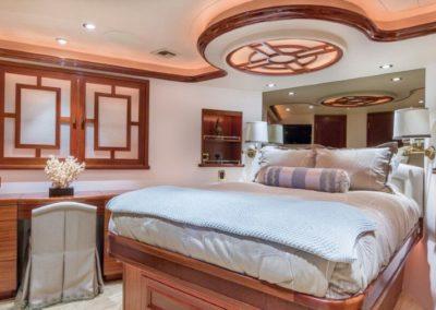 112 Westport yacht master stateroom