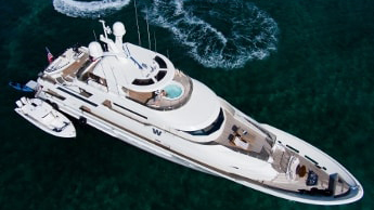 130 Westport luxury yacht