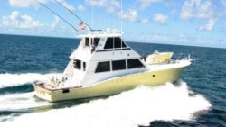 60 Hatteras fishing yacht