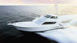 70 Hatteras fishing yacht