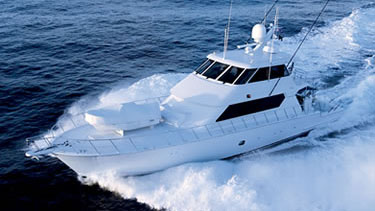 90 Hatteras fishing yacht