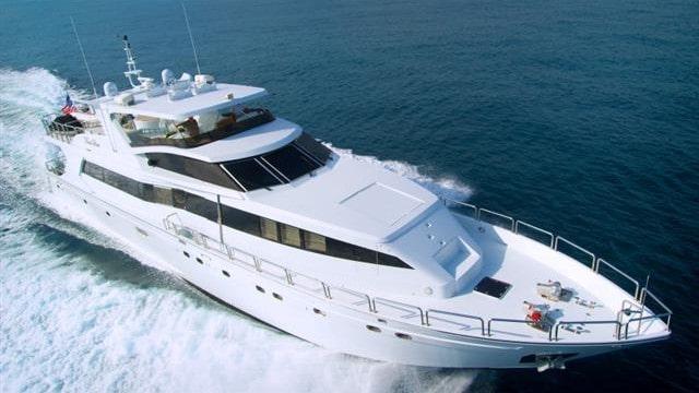 102 Azimut luxury charter yacht