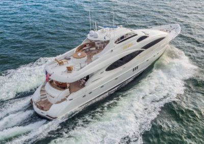 106 Lazzara luxury charter yacht