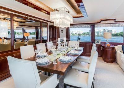 112 Westport yacht formal dining