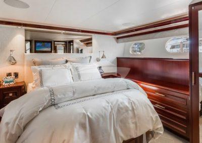 112 Westport yacht guest stateroom