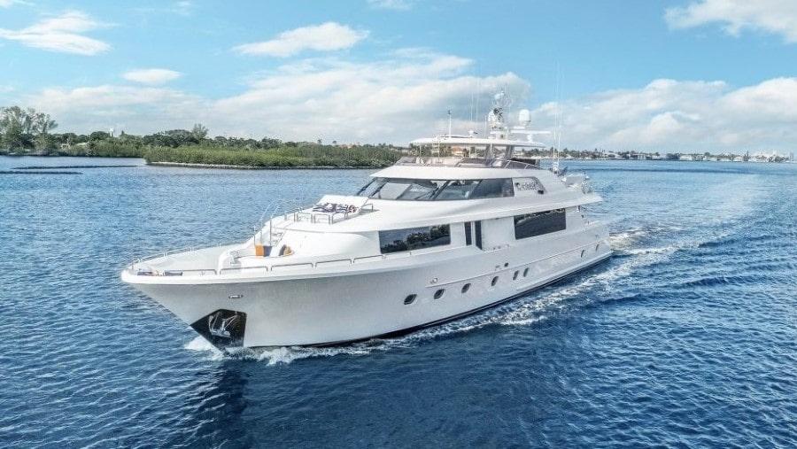 112 Westport luxury charter yacht