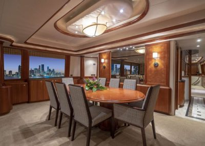 115 Westport yacht official dining