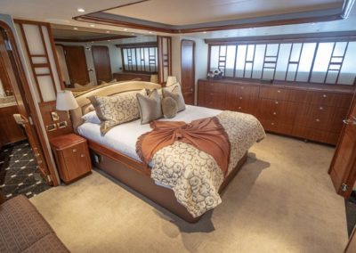115 Westport yacht master stateroom