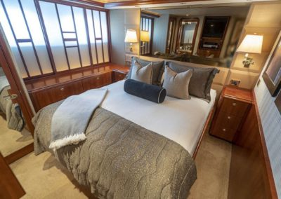115 Westport yacht guest stateroom three