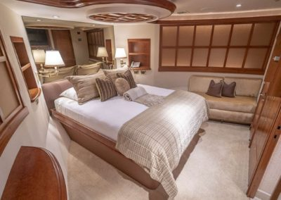 115 Westport yacht guest stateroom two