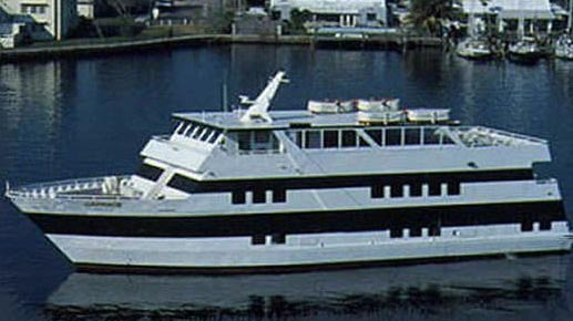 130 Custom-built party yacht