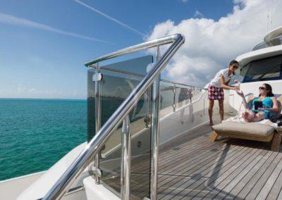 130 Westport yacht full service