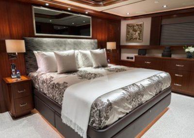 130 Westport yacht guest stateroom