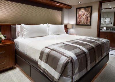 130 Westport yacht master stateroom