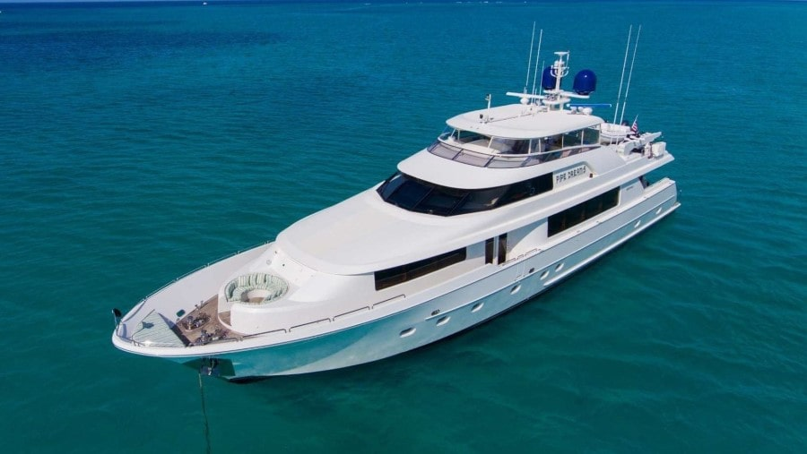 130 Westport Miami luxury charter yacht