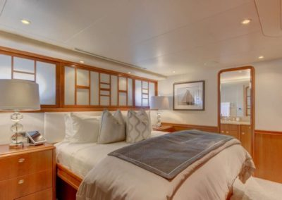 130 Westport yacht guest stateroom two