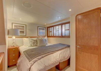 130 Westport yacht guest stateroom one