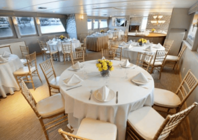 137 Swiftship party yacht event dining salon