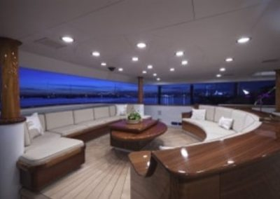 164 Trinity yacht lounge