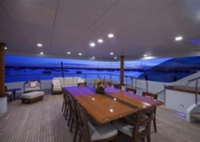 164 Trinity yacht aft deck