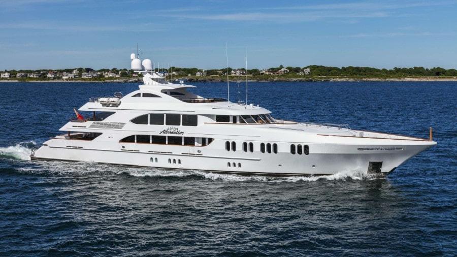 164 Trinity luxury charter yacht