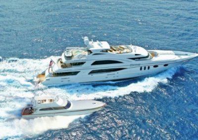 164 Trinity luxury yacht cruising