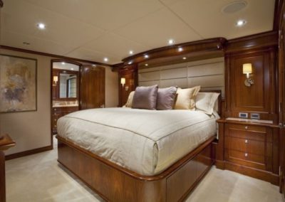 164 Trinity yacht guest stateroom