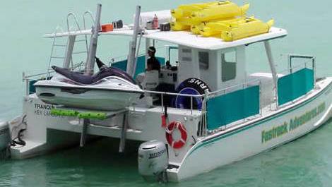40 Power party catamaran