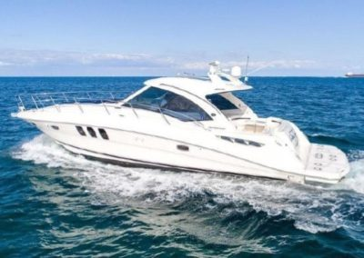48 Searay charter yacht