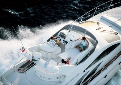 50 Azimut yacht on charter in Miami