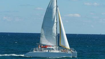 50 Sailing party catamaran