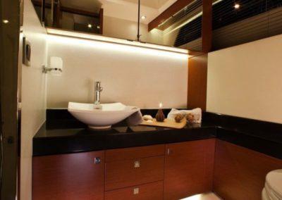 50 Prestige yacht master bathroom