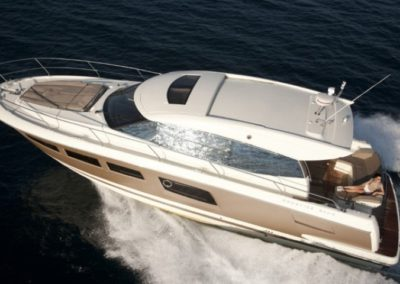 50 Prestige charter yacht