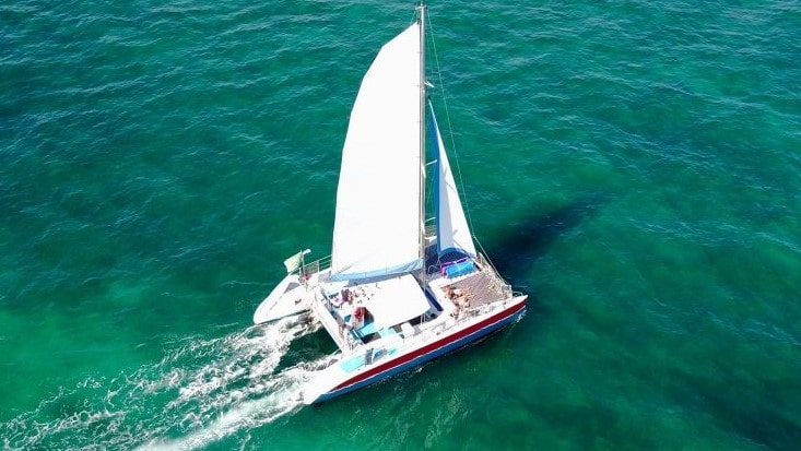 50 Sailing Miami party Catamaran