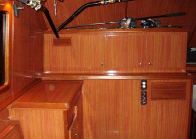 51 Hatteras sportfish yacht interior