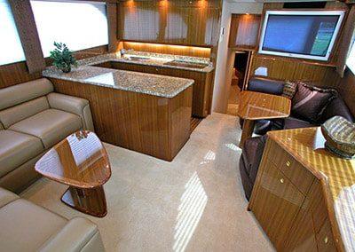 52 Viking sportfish yacht salon