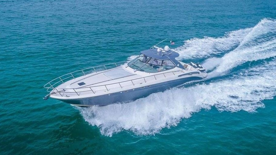 54 Searay Miami charter yacht