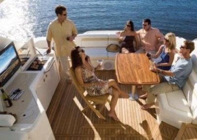 54 Searay yacht fun in the sun in Miami