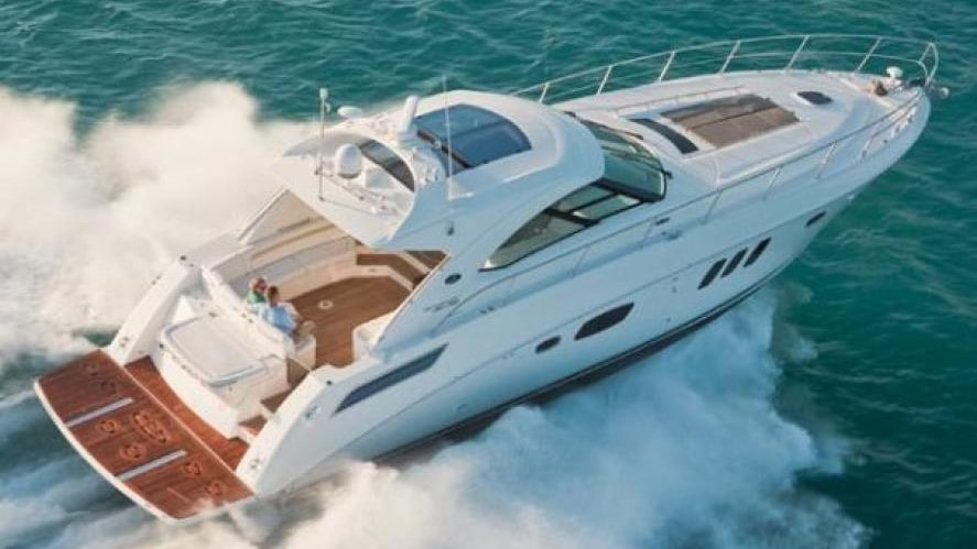 54 Searay rental yacht in Miami