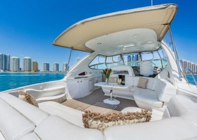 54 Searay yacht on charter in Miami