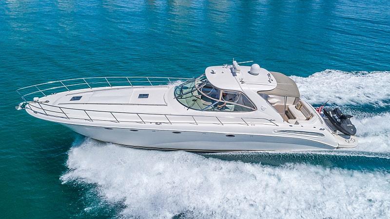 54 Searay charter yacht