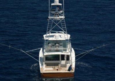 55 Viking Miami sportfish charter yacht throling
