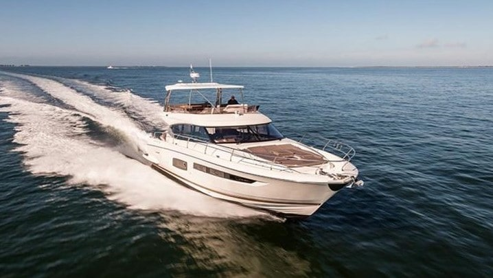 56 Prestige Miami charter yacht