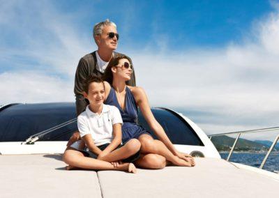 58 Azimut yacht of luxury and style