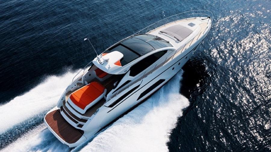 58 Azimut luxury yacht