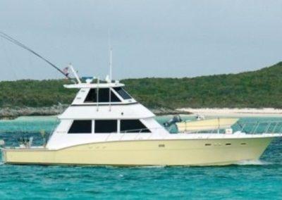 60 Hatteras Miami sportfish charter yacht