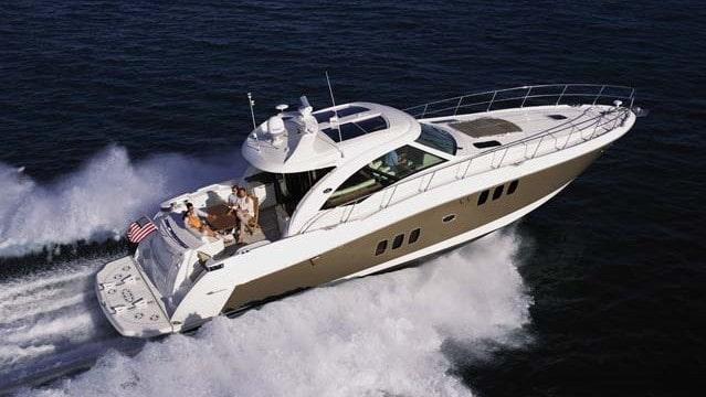 60 Searay Miami rental yacht