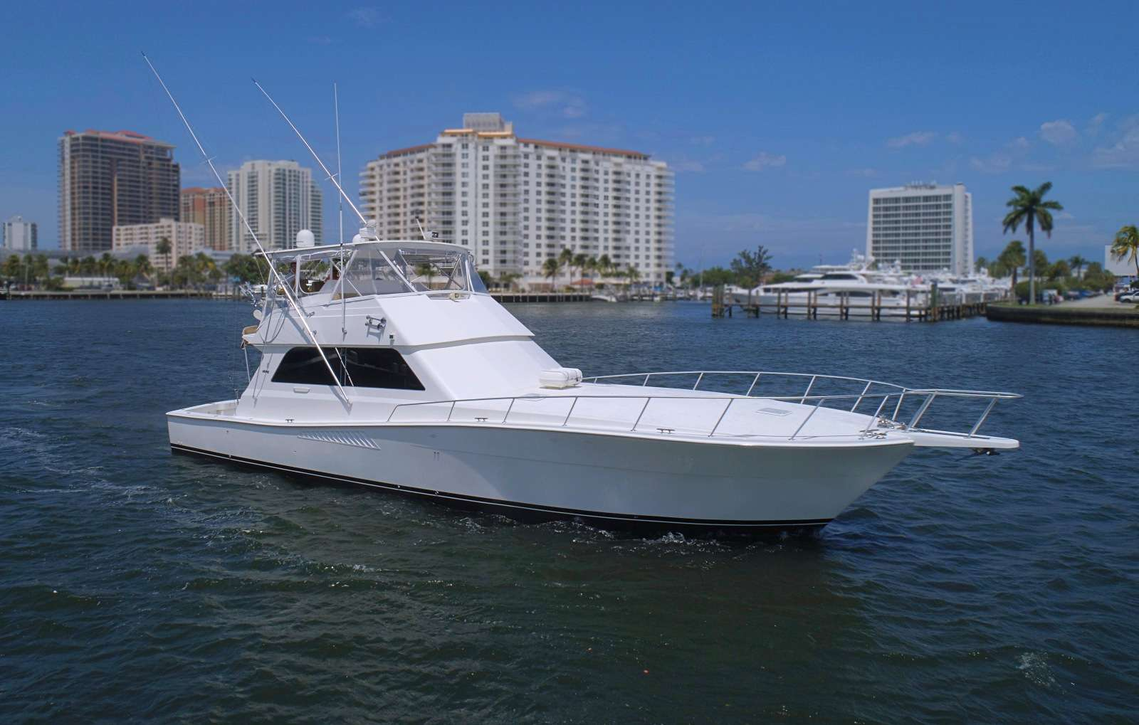 60 Viking Miami sportfish charter yacht