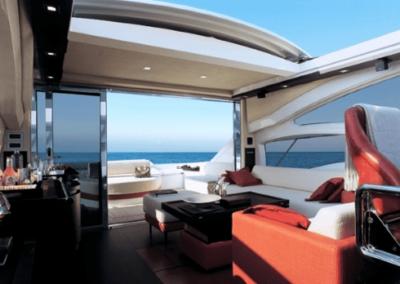 62 Azimut yacht salon