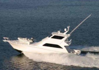 62 Viking sportfish yacht cruising